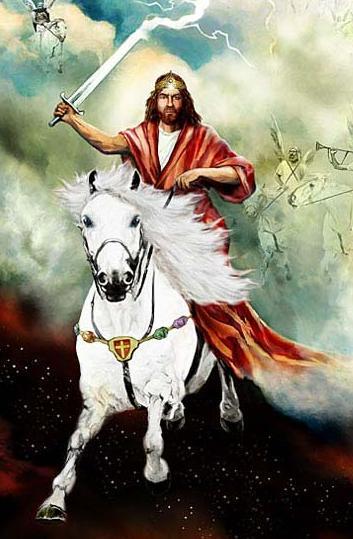 jesus on white horse 2