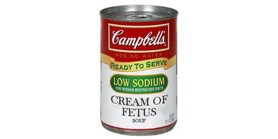 cream of fetus soup