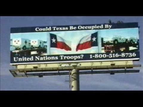 UN-Texas-Sign