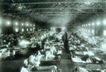 spanish-flu-ward-camp-funston-300x220
